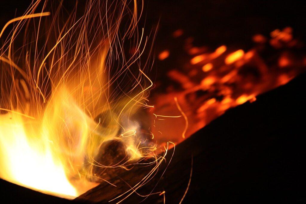abstract, blaze, bonfire